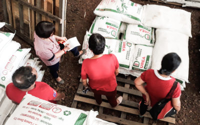 Rice, rubber farmers in Zamboanga benefit from distribution of inputs, tools from Project ConVERGE