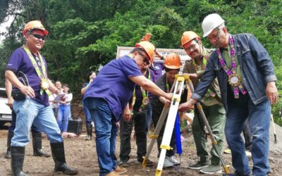 PROJECT CONVERGE BREAKS GROUND FOR FMR IN MAMBAJAO