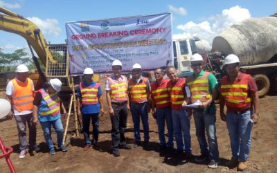 Groundbreaking of the Muscovado Processing Plant