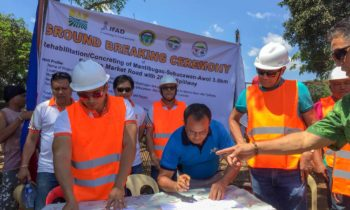 DAR starts road project, sees agricultural boost