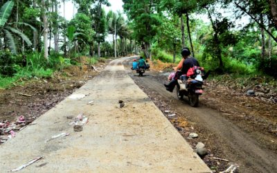 Road project brings hope for upland abaca farmers in Santiago