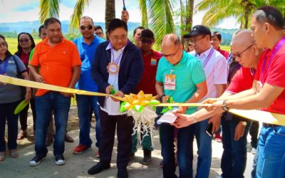 DAR chief graces turn-over of P24.8-M road under Project ConVERGE
