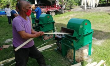 DAR project sends machine to help Camiguin abaca farmers