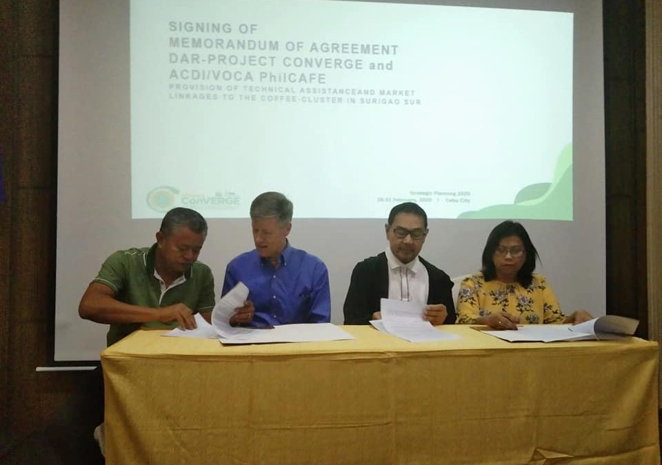 Brewing a Better Coffee Enterprise for Surigao Sur Farmers: The Project ConVERGE – ACDI/VOCA PHILCAFE Partnership