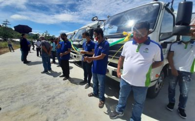 TURN-OVER AND DELIVERY OF HAULING TRUCKS IN ZAMBOANGA DEL SUR