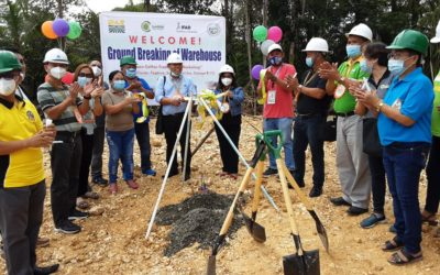 GROUNDBREAKING OF WAREHOUSE, TURN-OVER OF HAULING TRUCK, LAUNCHING OF COFFEE TRADING ENTERPRISE AND SIGNING OF MARKET CONTRACT