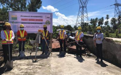 ConVERGE Zamboanga Sibugay conducts Contract Signing for ARBO Multi-Purpose Building Construction