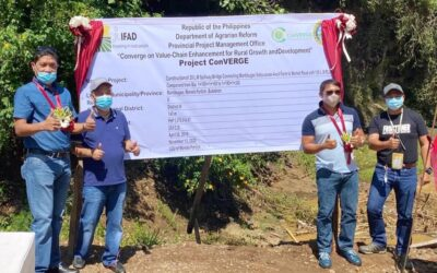 TURN-OVER OF PROJECTS IN NORTH BUKIDNON