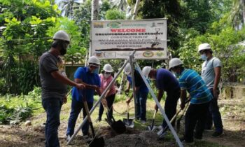 Groundbreaking Ceremony for Abaca Fiber Warehouse Construction Held