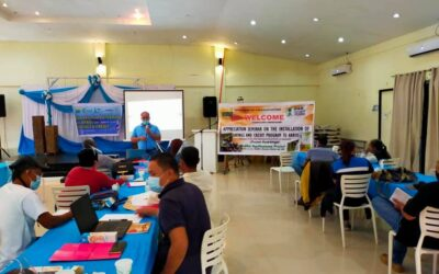 APPRECIATION SEMINAR ON THE INSTALLATION OF SAVING AND CREDIT PROGRAM TO LARBO AND PARBO'S