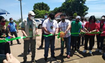 DAR CHIEF LEADS ROAD TURN-OVER IN BUKIDNON